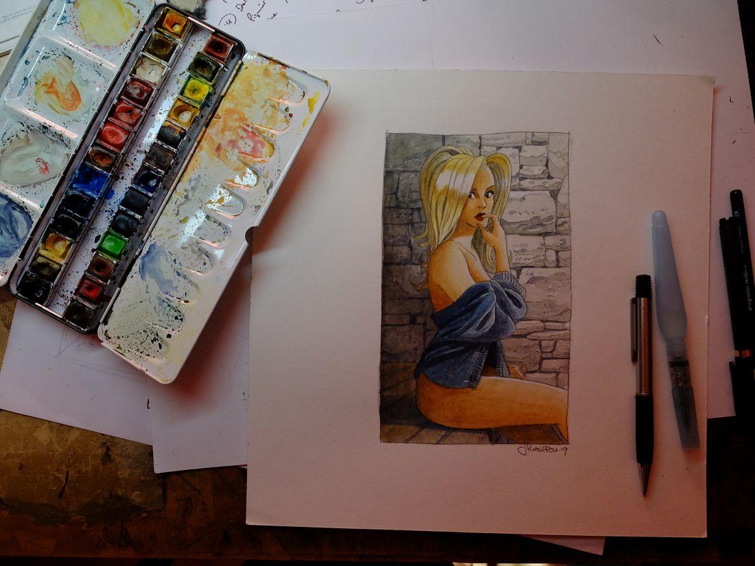Betsy, work in progress © Jerome Phalippou
