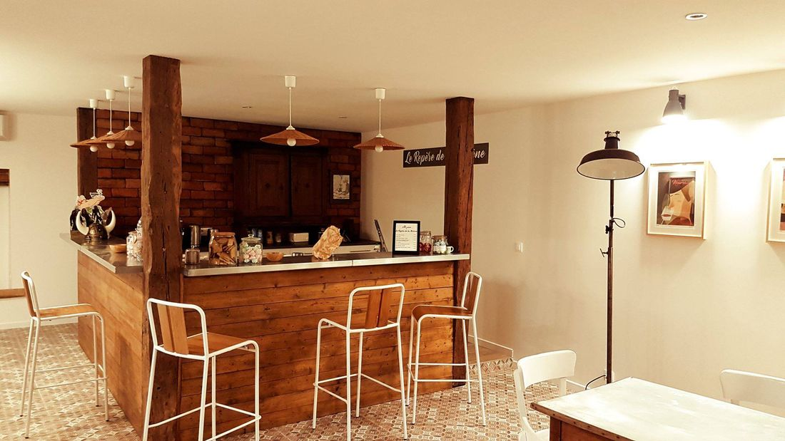 La Boussole, le côté bar baptisé le repère (jeu de mots) de la Murène© La Boussole