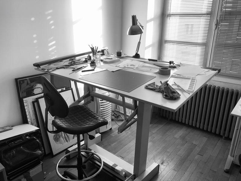 La Venin, atelier de l'artiste