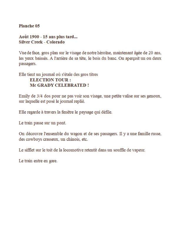 La Venin, scénario de la planche 1 © Laurent Astier