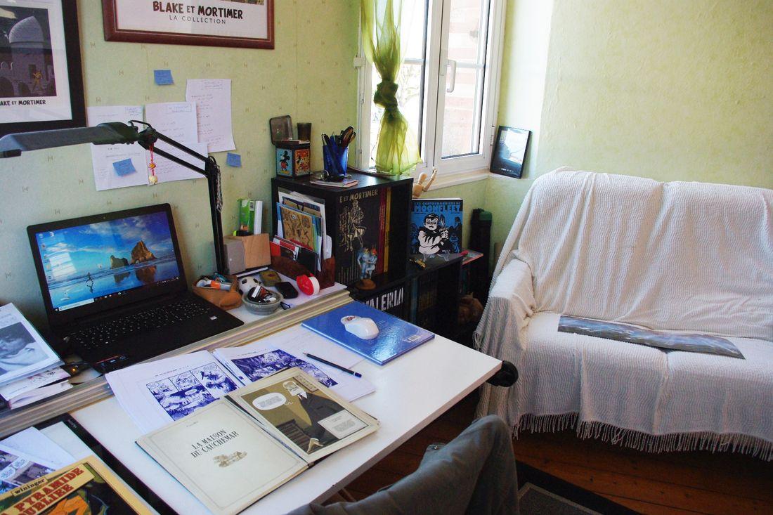 le bureau des Aventuriers de l'Etrange