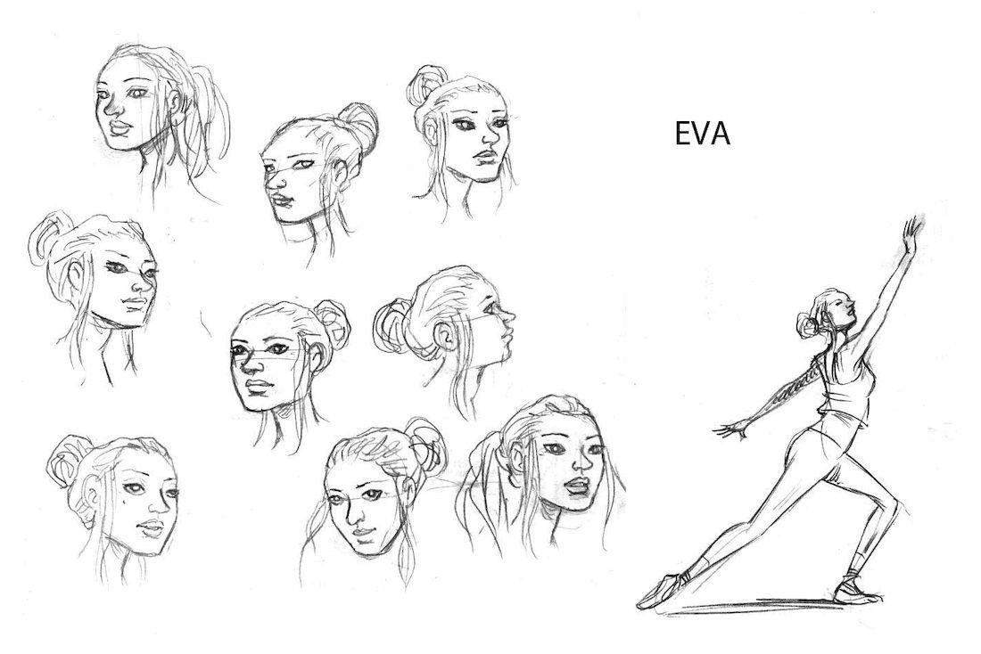 dans la Forêt, recherche de personnage : Eva © Lomig
