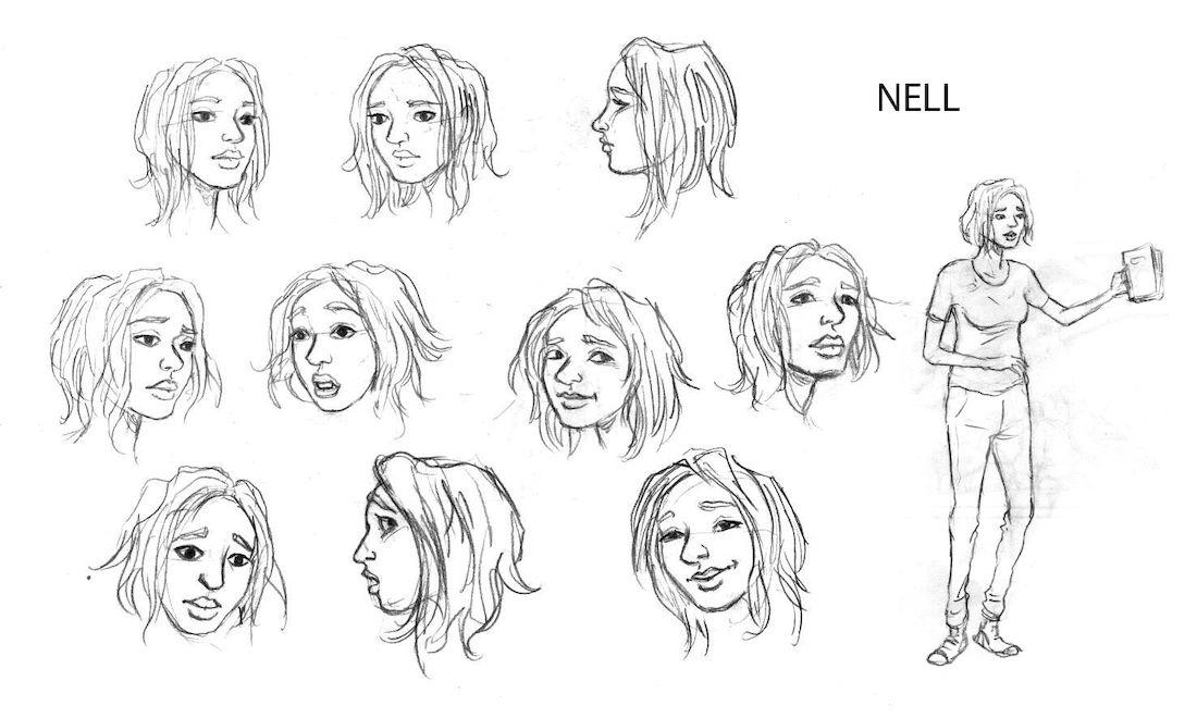 dans la Forêt, recherche de personnage : Nell © Lomig