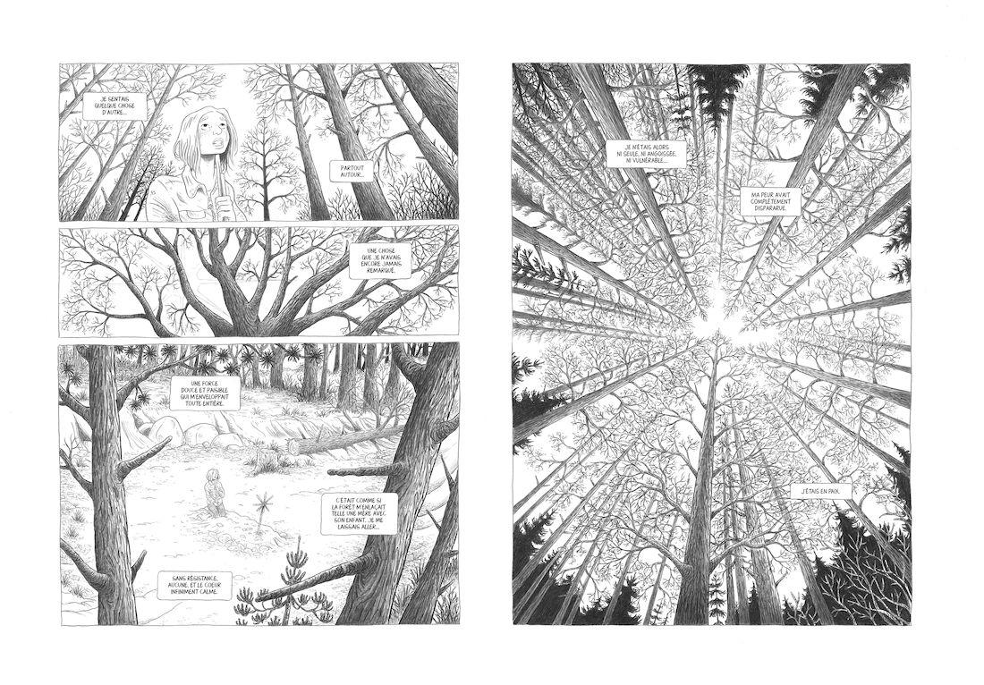 dans la Forêt, planche 2 finalisée © Lomig