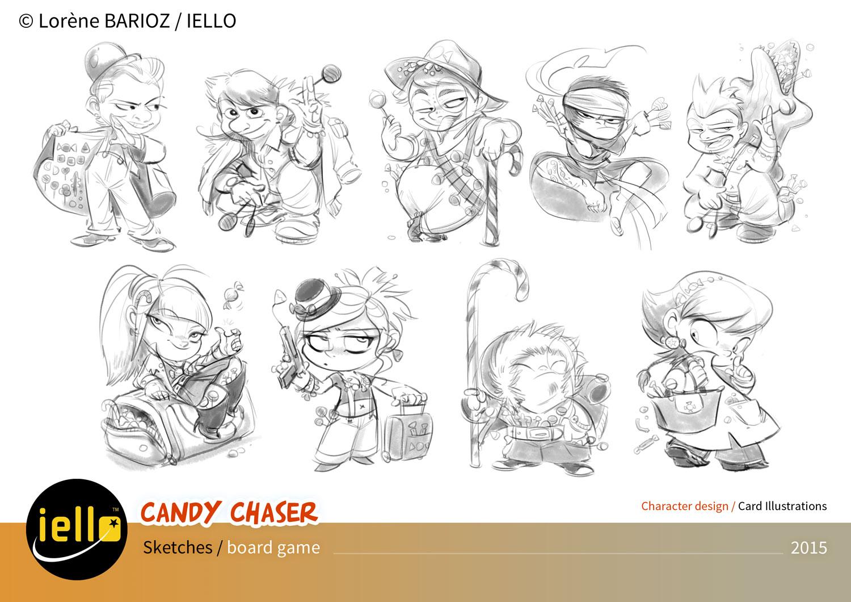 Candy Chaser, recherche de personnage © Lorène Barioz