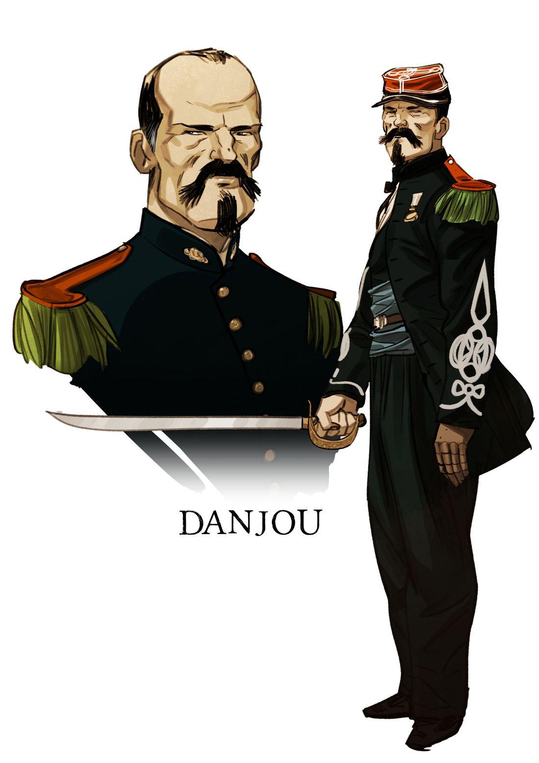 Legio Patria Nostra, recherche de personnage : DAnjou © Boidin
