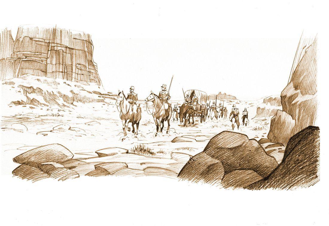 Legio Patria Nostra, le désert © Boidin