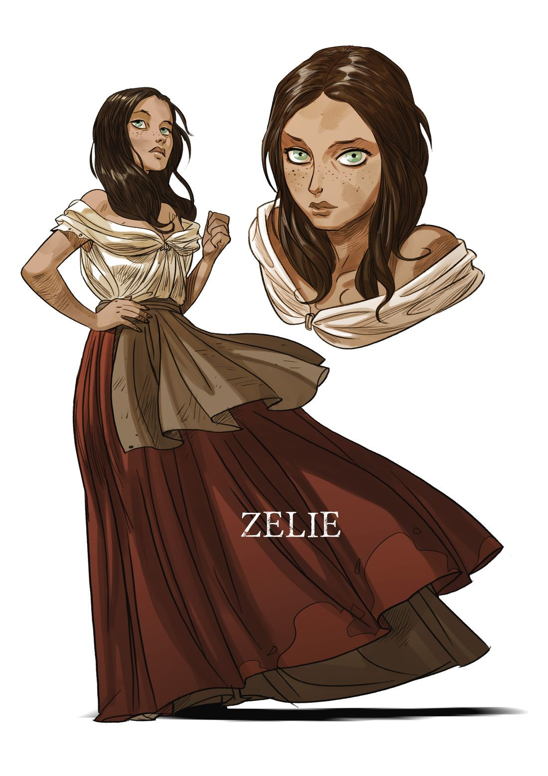 Legio Patria Nostra, recherche de personnage : Zélie © Boidin