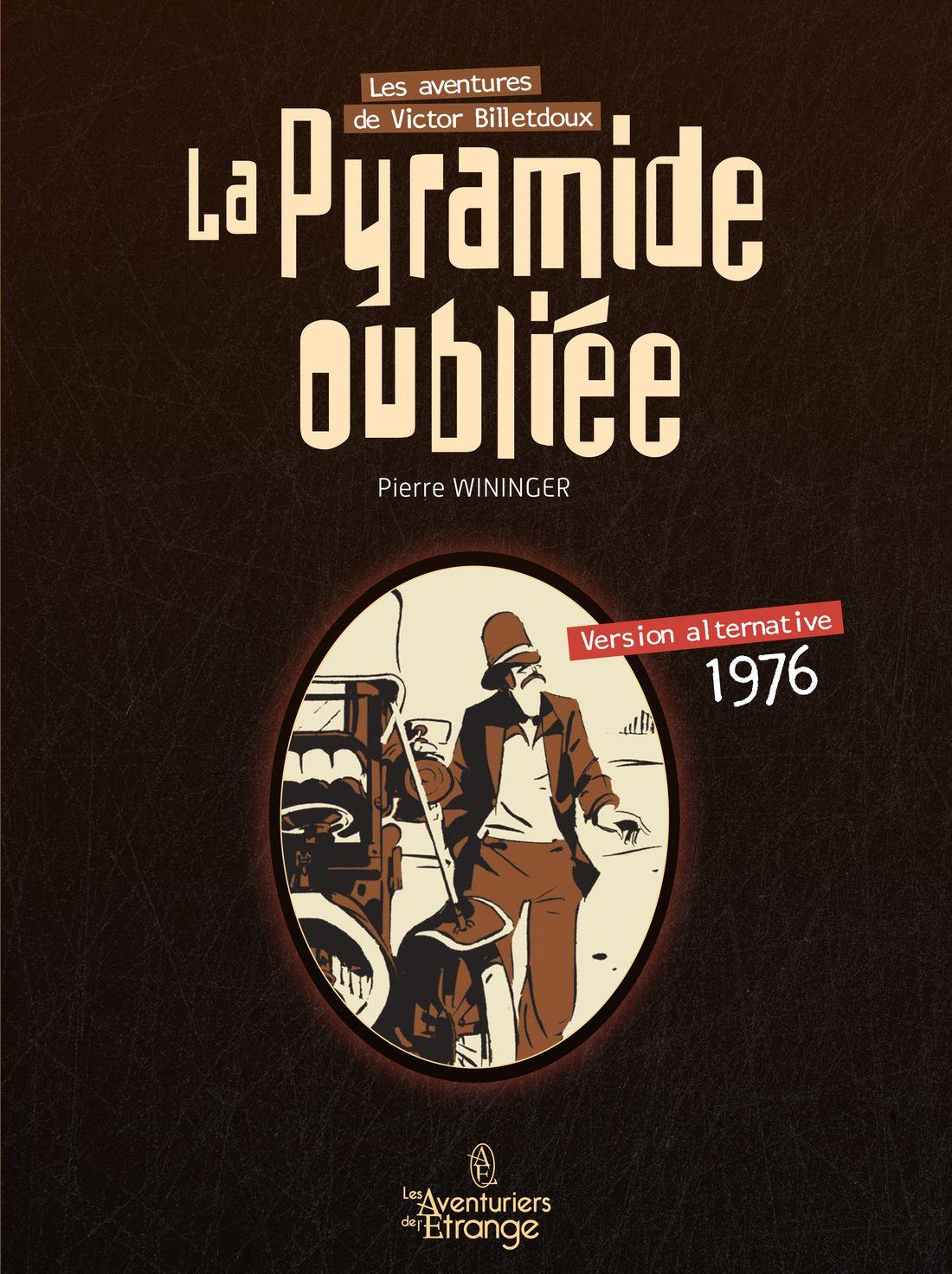 Entretien avec Marc Antoine Fleuret, la Pyramide oubliée, édition alternative © Les Aventuriers de l'Etrange / Pierre Wininger