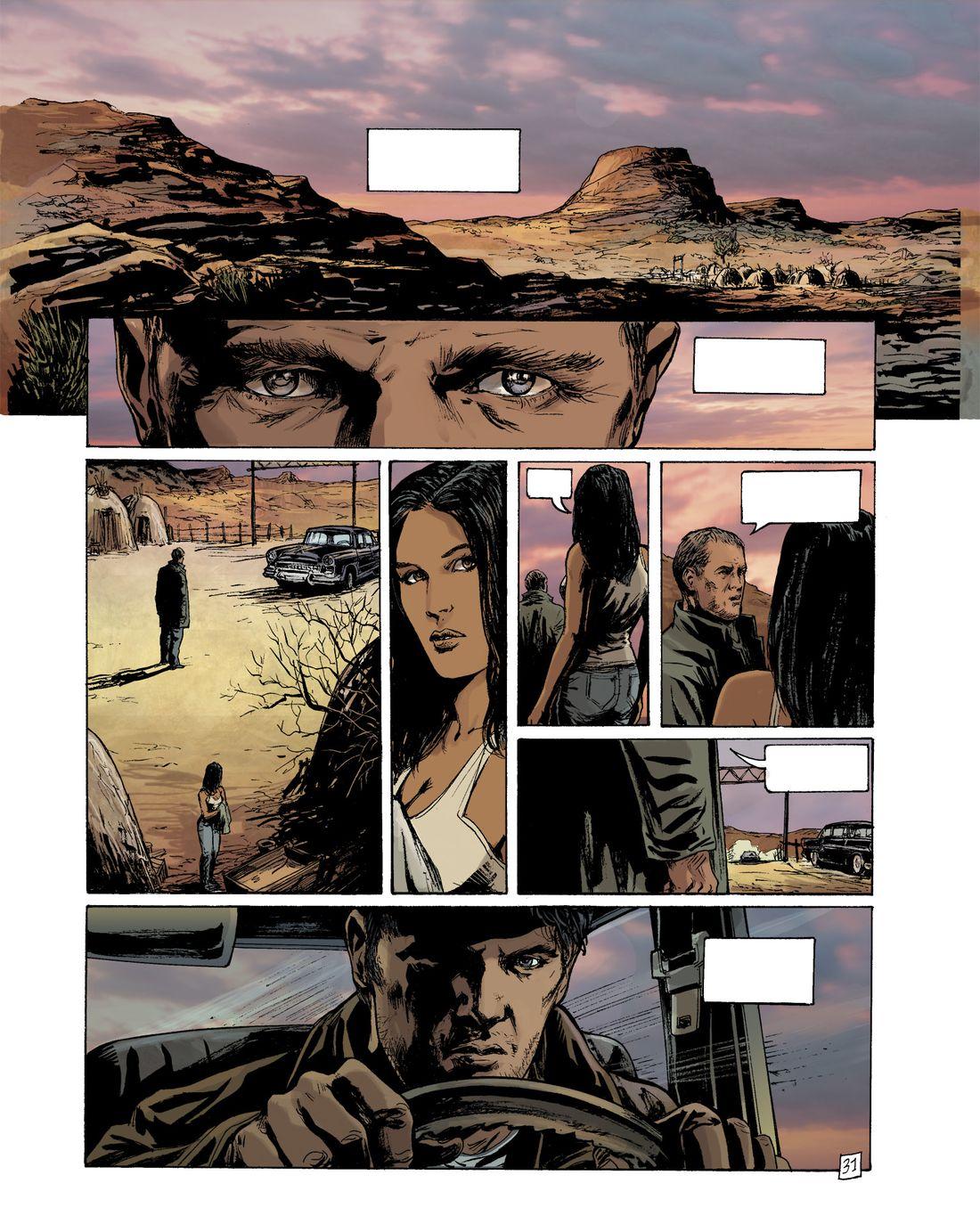 L'Art du Crime, planche 31 du tome 1 finalisée © Glénat / Berlion / Omeyer / Favrelle