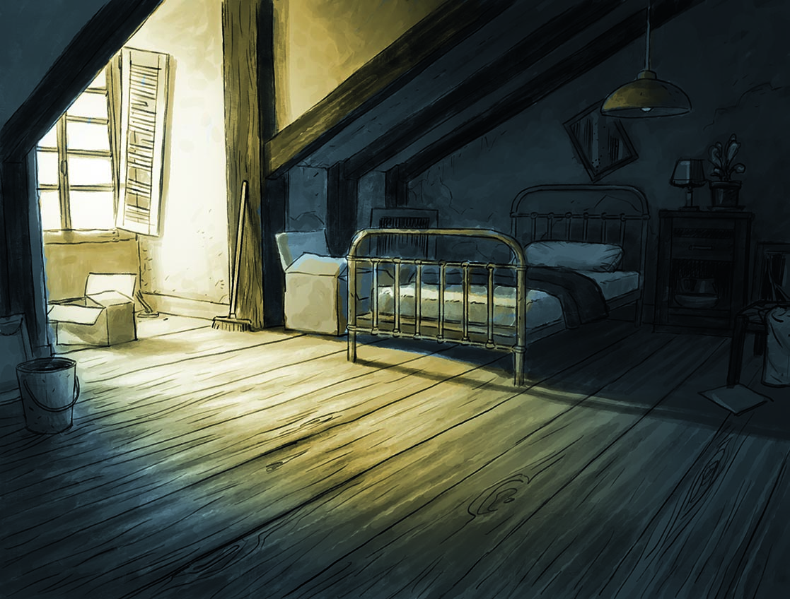 Harmony, recherche autour de la chambre d'Harmony © Reynès