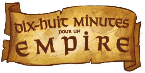 Dix Huit Minutes pour un Empire, logo © Iello / Laukat
