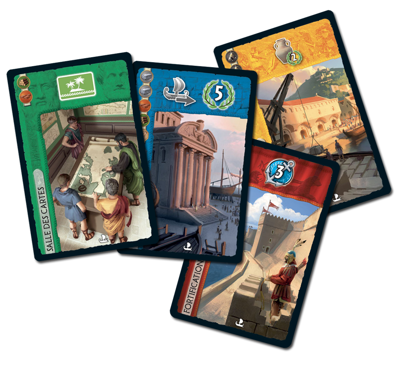 7 Wonders - Armada, cartes Armada © Repos Prod