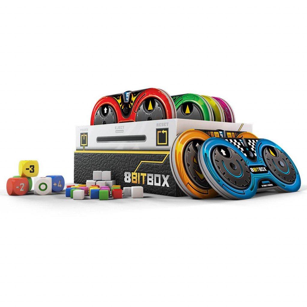8Bit Box, les composantes de la Console © Iello