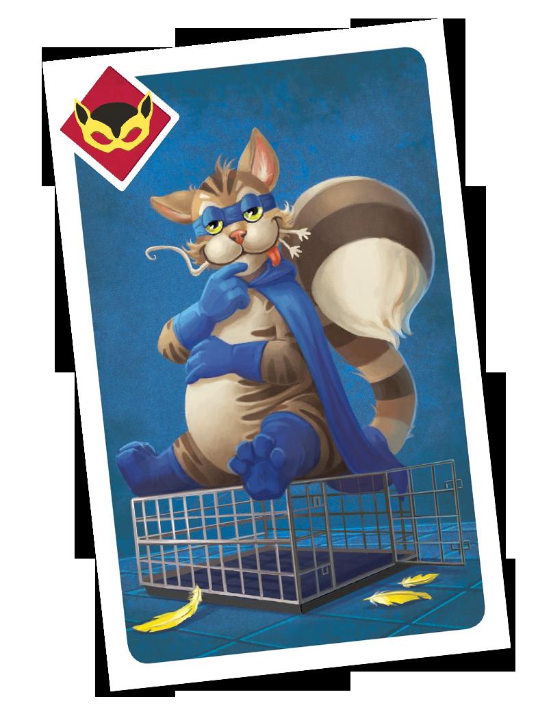 ARGH, une des (superbes) cartes du jeu © Blue Cocker / Heidsieck / Galonnier
