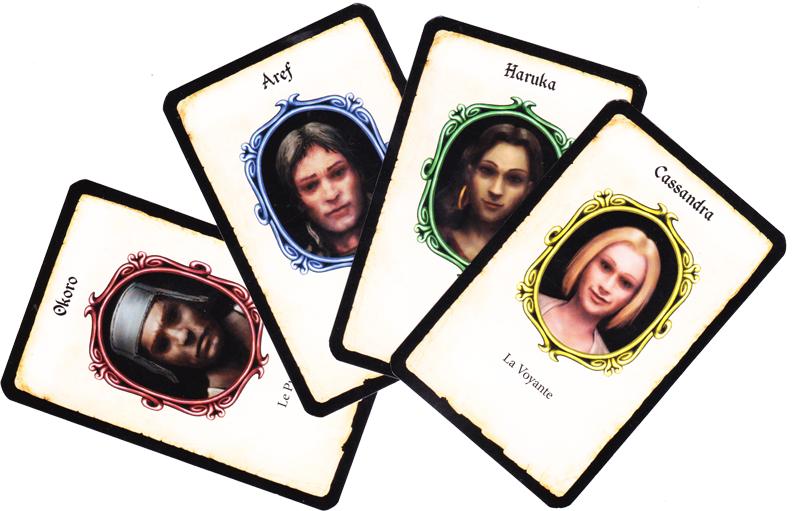 Adventure Games, le Donjon, quatre valeureux héros © Iello