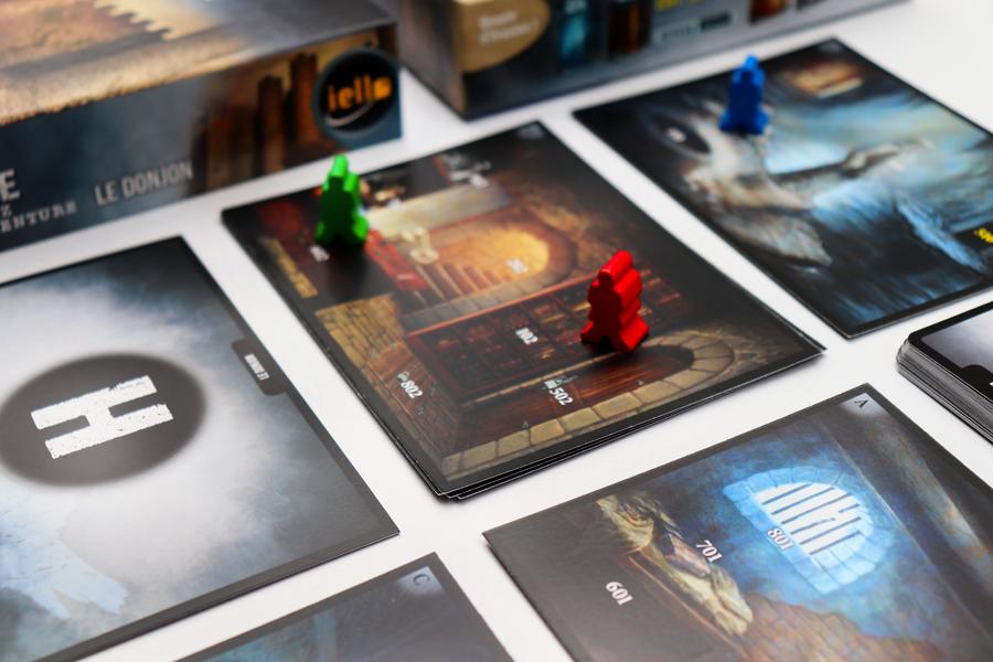 Adventure Games, le Donjon, visuel © Iello