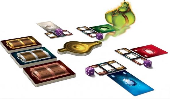 Aladin & la Lampe Merveilleuse, magie orientale... © Purple Brain / Tornior