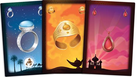 Aladin & la Lampe Merveilleuse, bribes de parrures. © Purple Brain / Tornior