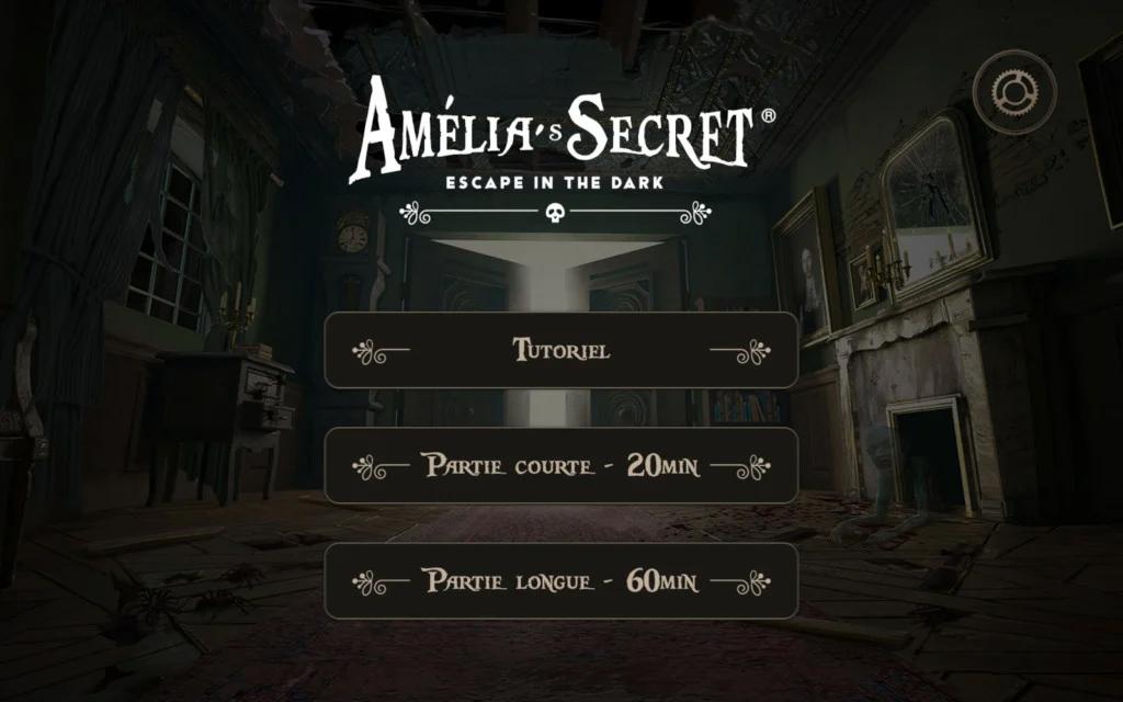Amelia's Secret, une appli bien pensée © XD Productions / Nicolas