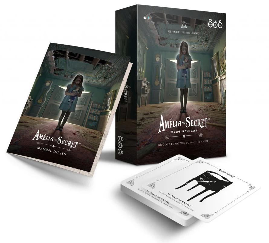 Amelia's Secret, Apperçu du matériel © XD Productions / Nicolas