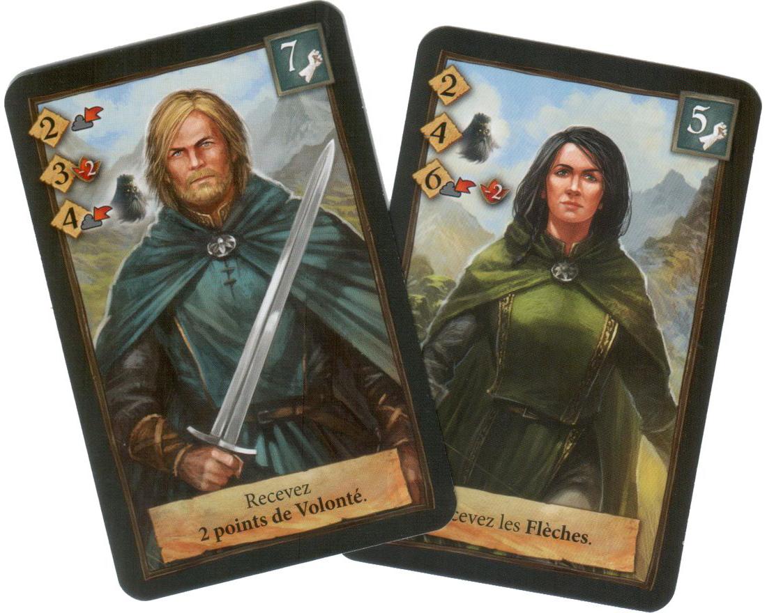 Andor : Chada & Thorn, nos deux valeureux héros © Iello / Menzel / Hecht