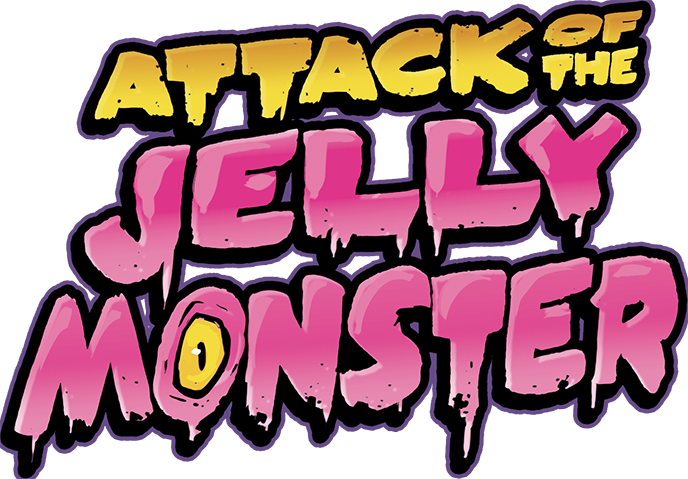 Attack of the Jelly Monster, le logo très design © Libellud / Duchemin