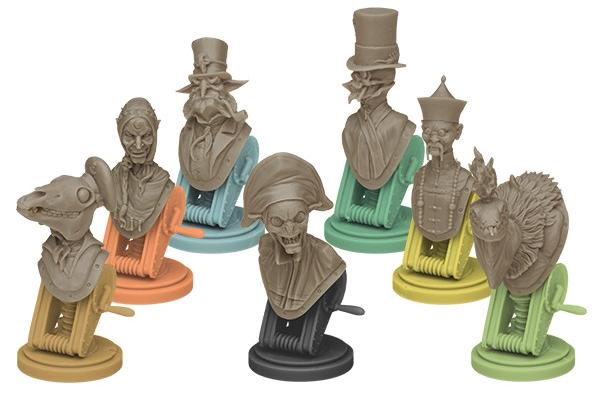 Au Service de Sa Majesté, figurines Shadow Master et ses Agents © EDGE