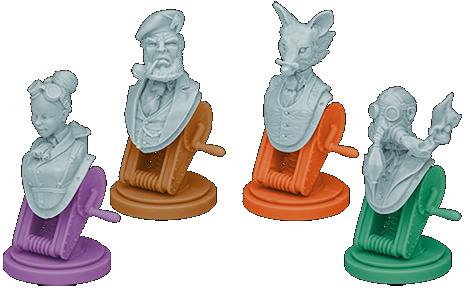 Au Service de Sa Majesté, les figurines des Gentlemen © EDGE