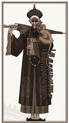 Au Service de Sa Majesté, illustration tirée des règles © EDGE