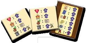 Bastille, aide de jeu pour le comptage © Queen Games / Cochard  / Erdt / Behre