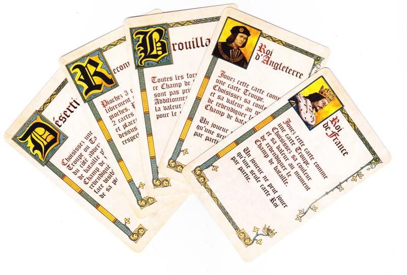 Battle Line Medieval, carte tactique © Pixie Games / MacDonald / Knizia