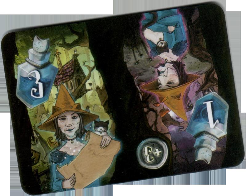 Blackwood, verso d'une carte sort © Runes Editions / Alödâh / Tapimoket
