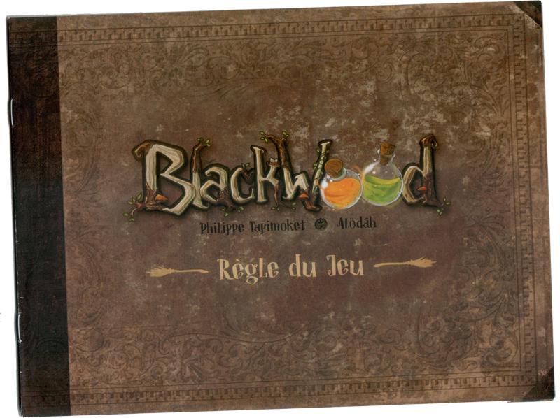 Blackwood, le mystérieux livret de règle © Runes Editions / Alödâh / Tapimoket
