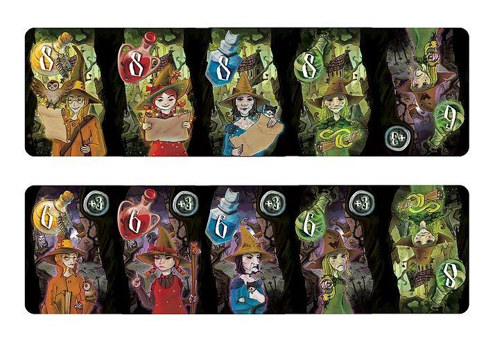 Blackwood, les sorcières du Conseil de Blackwood © Runes Editions / Alödâh / Tapimoket