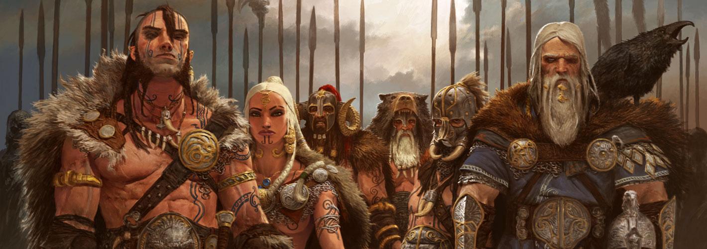 Blood Rage, illustration du jeu © EDGE