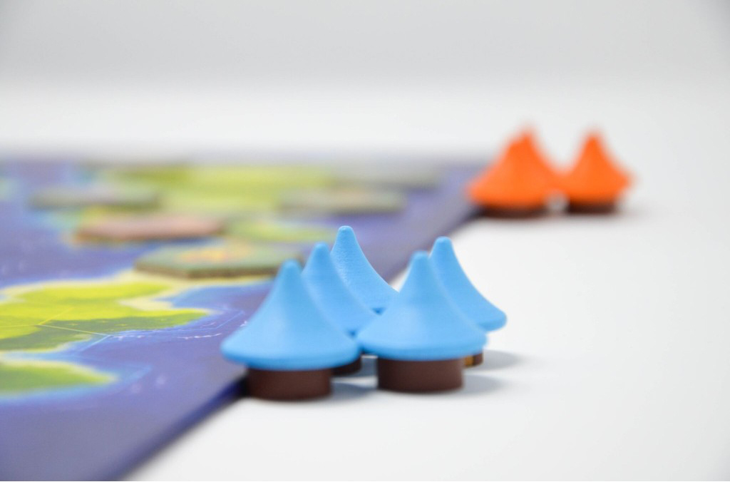 Blue Lagoon, zoom sur les villages © Blue Orange / Larek / Knizia