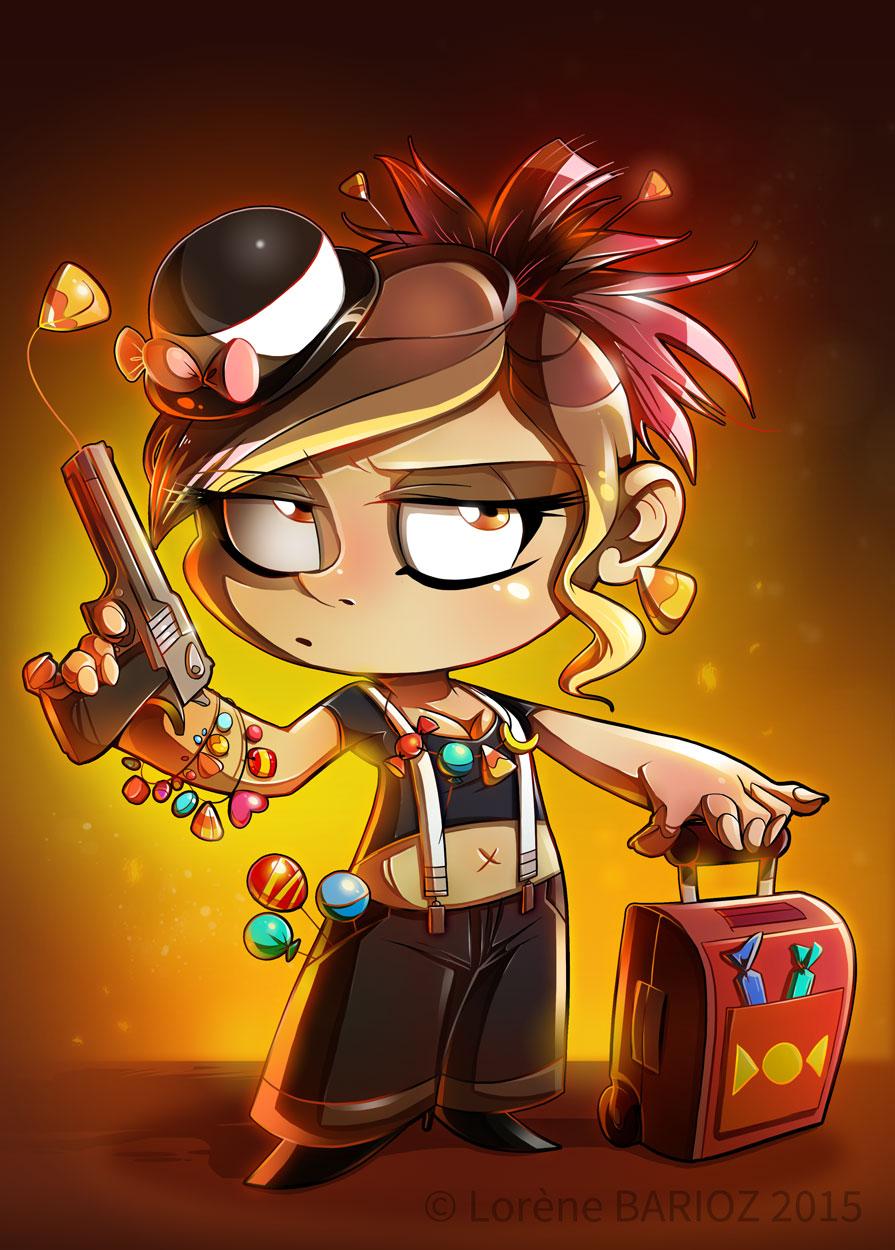 Candy Chaser, dealeuse de bonbec © Iello / Barioz / Suganuma