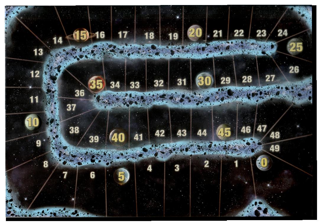 Carcassonne Star Wars Edition, la piste de score © Filosofia / Klaus-Jürgen Wrede