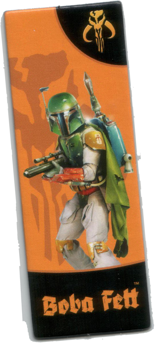 Carcassonne Star Wars Edition, his name is Fett, Boba Fett © Filosofia / Klaus-Jürgen Wrede