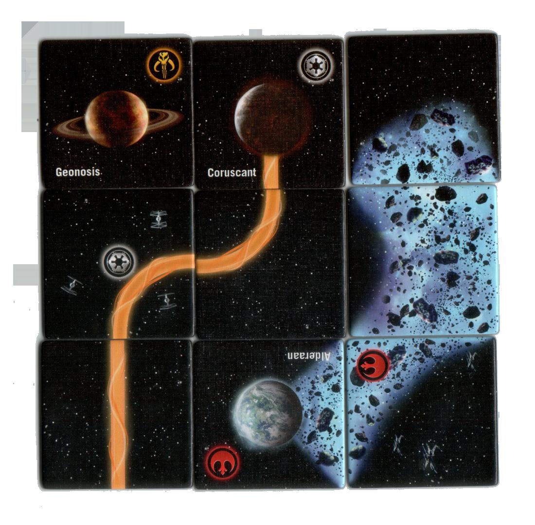 Carcassonne Star Wars Edition, dans une très lointaine galaxie © Filosofia / Klaus-Jürgen Wrede