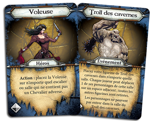 Cave Troll, cartes Personnage © EDGE