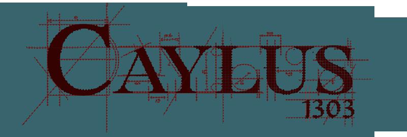 Caylus 1303, le logo du jeu © Space Coboys / Bosley / Attia