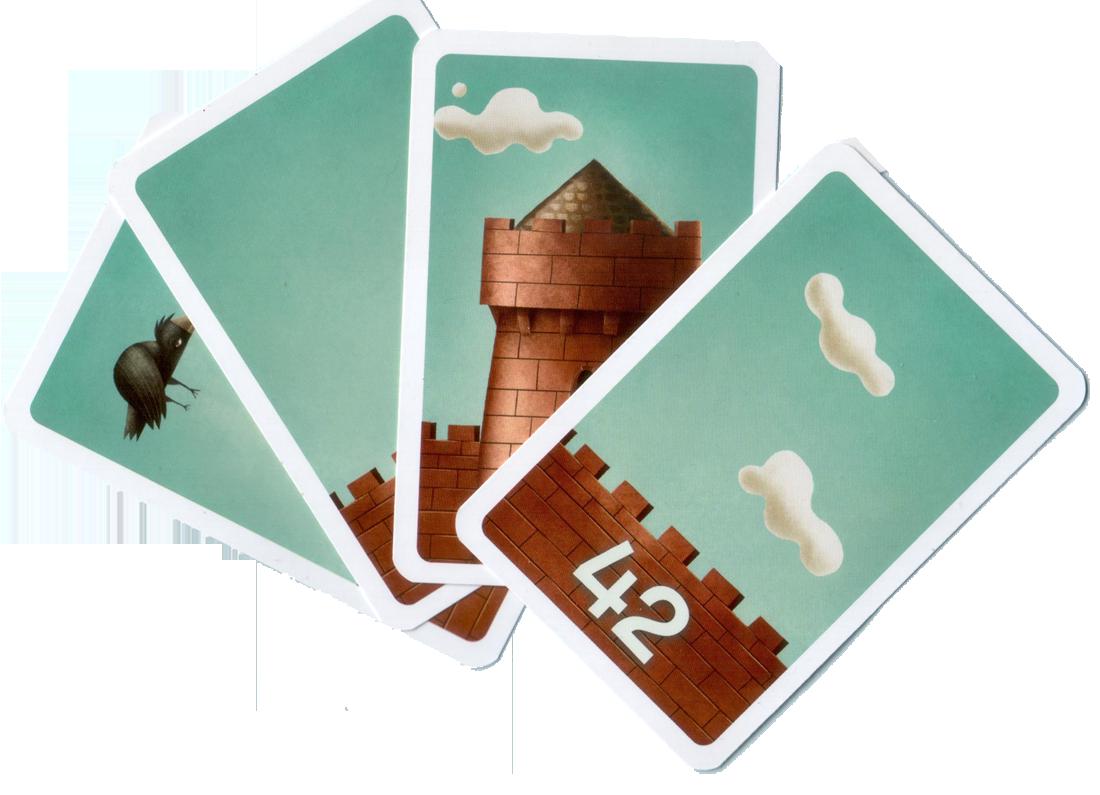 C'est mon fort, quelques cartes © MJ Games / Szymanowicz / Ehrhard