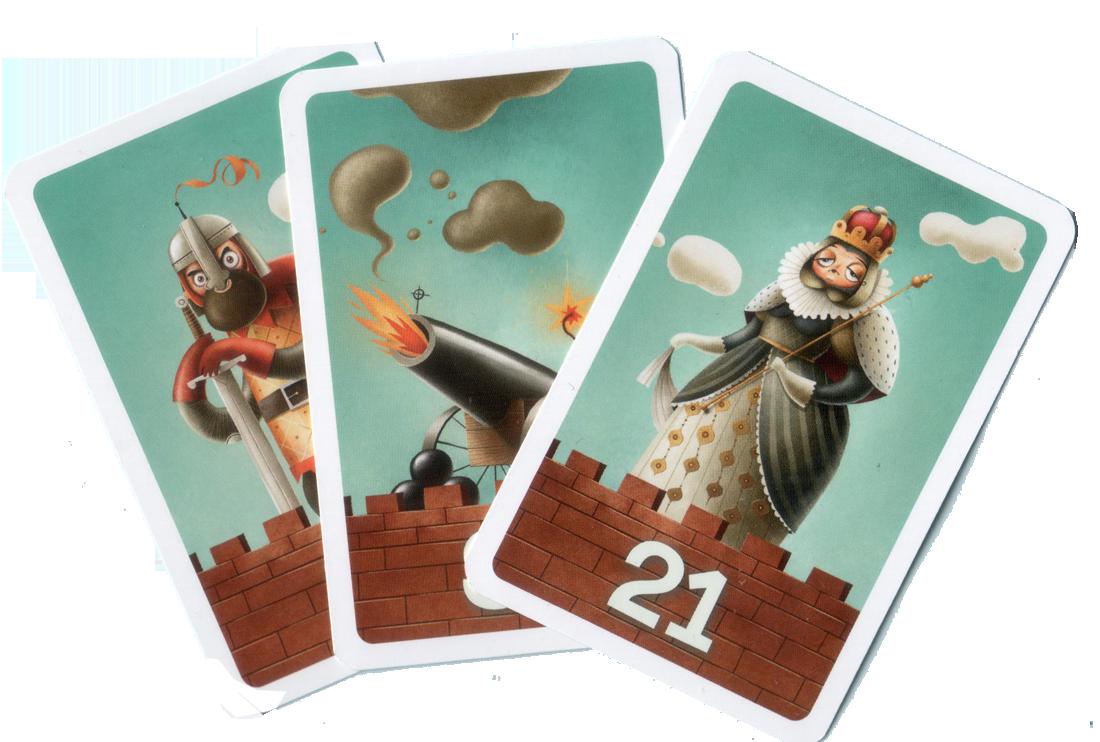 C'est mon fort, Personnages (et cannon) © MJ Games / Szymanowicz / Ehrhard