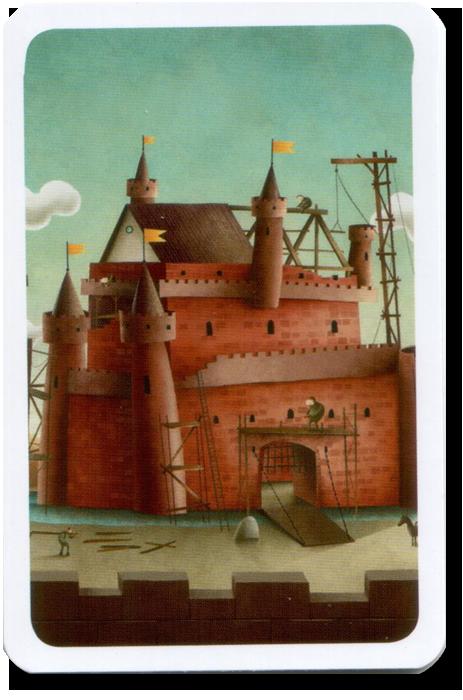 C'est mon fort, le dos des cartes © MJ Games / Szymanowicz / Ehrhard