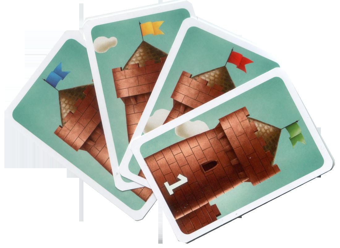 C'est mon fort, les fondations des forts © MJ Games / Szymanowicz / Ehrhard