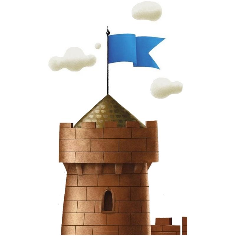 C'est mon fort, Tour où flotte (fièrement) le drapeau bleu © MJ Games / Szymanowicz / Ehrhard