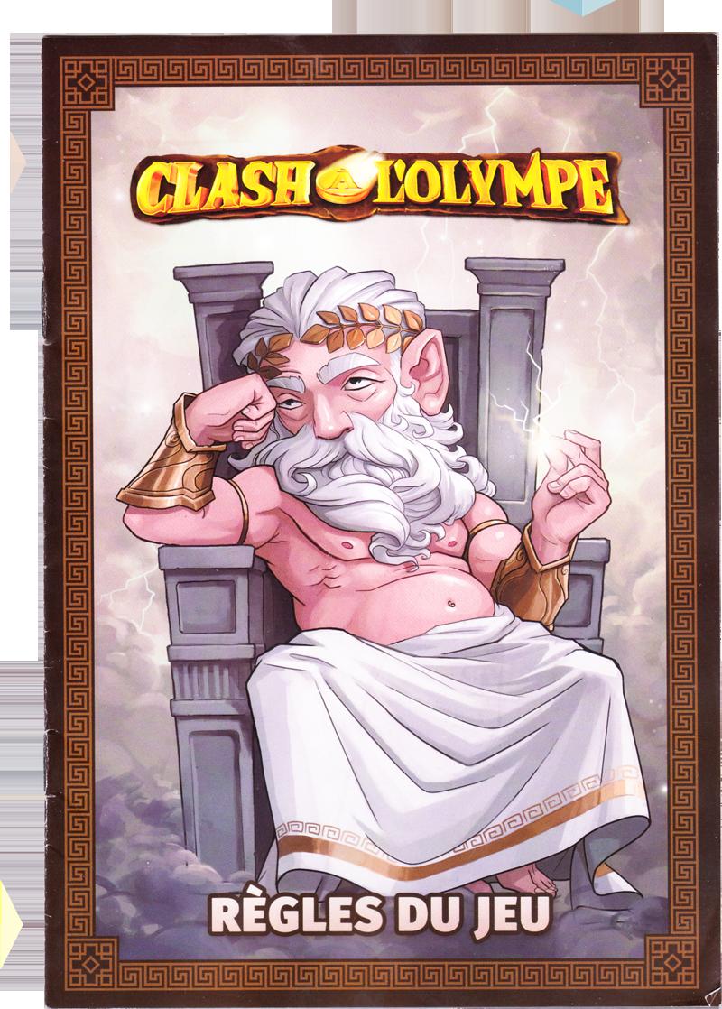 Clash à l'Olympe, la règle du jeu © Lucky Duck Games