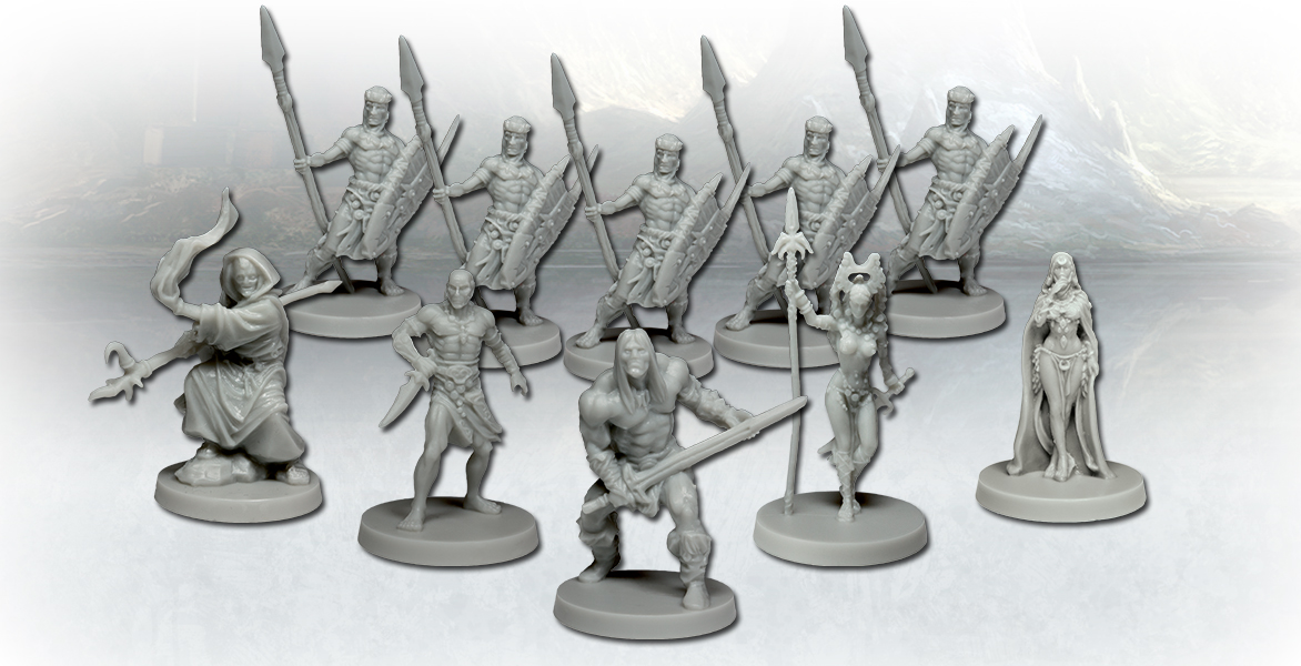 Conan, figurines © Monolith